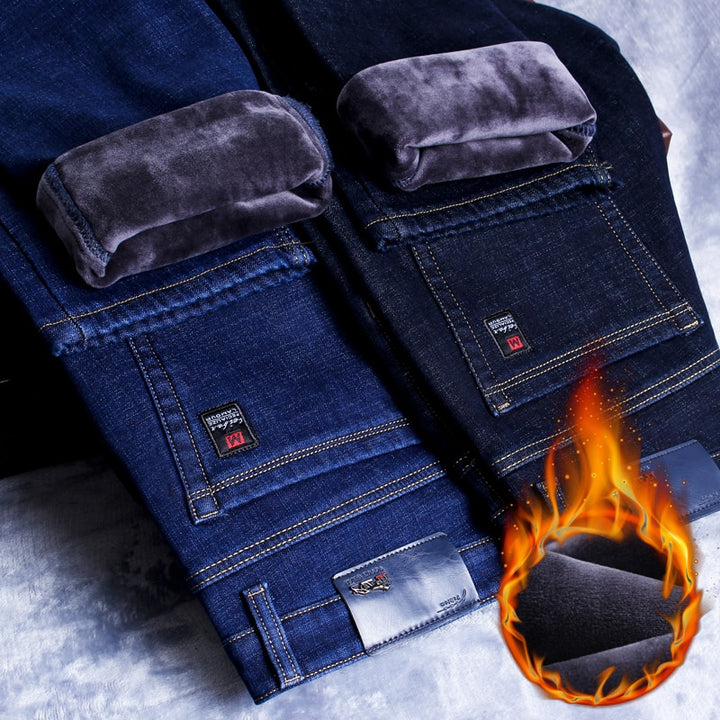Warm Slim Fit Jeans