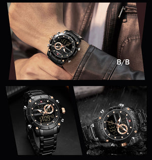 Top Brand Luxury Fashion Waterproof Watch