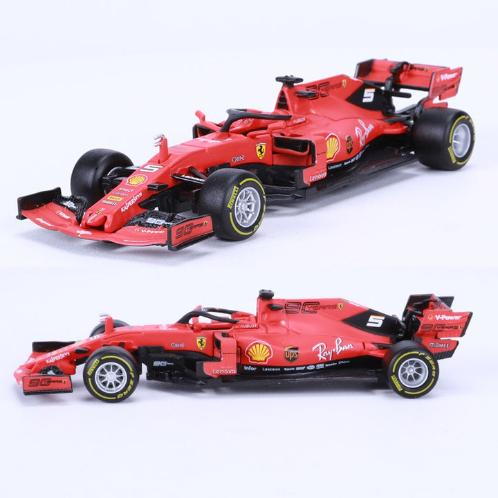 Diecast Alloy Car Model Toy For 2019 FERRARI F1 SF90