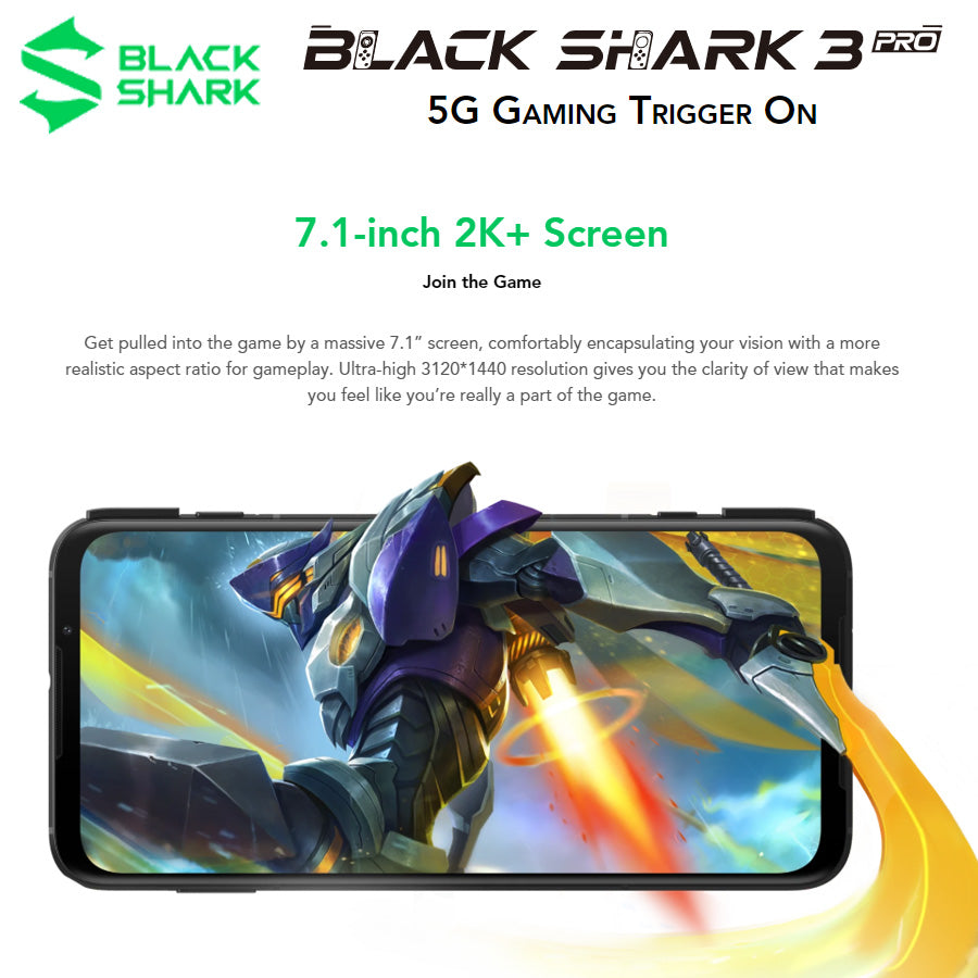 NEW Global Version Xiaomi Black Shark 3 Pro 5G Game Phone, NEW Global Version Xiaomi Black Shark 3 Pro 5G Game Phone, Falattar Store