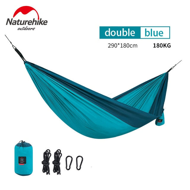 Portable Ultralight Double Person Camping Hammock, Portable Ultralight Double Person Hammock, Falattar Store