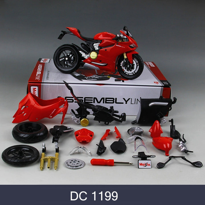 Ducati Motorcycle Model Assembly Kit