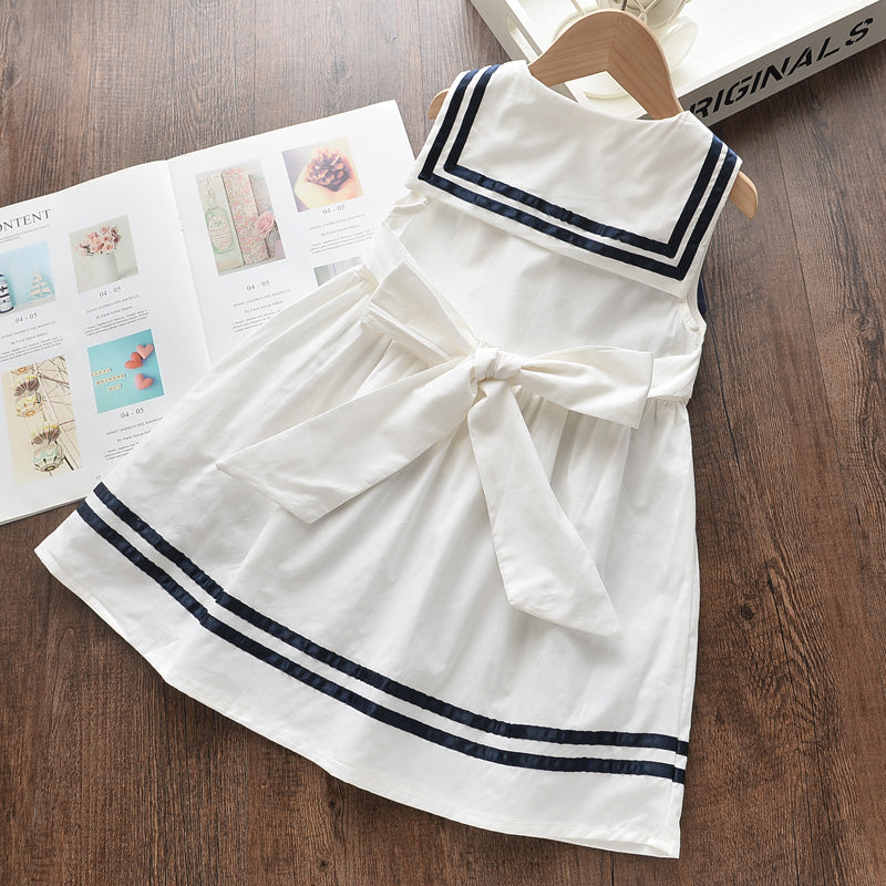 Summer Children Casual Dress, Summer Children Casual Dress, Falattar Store