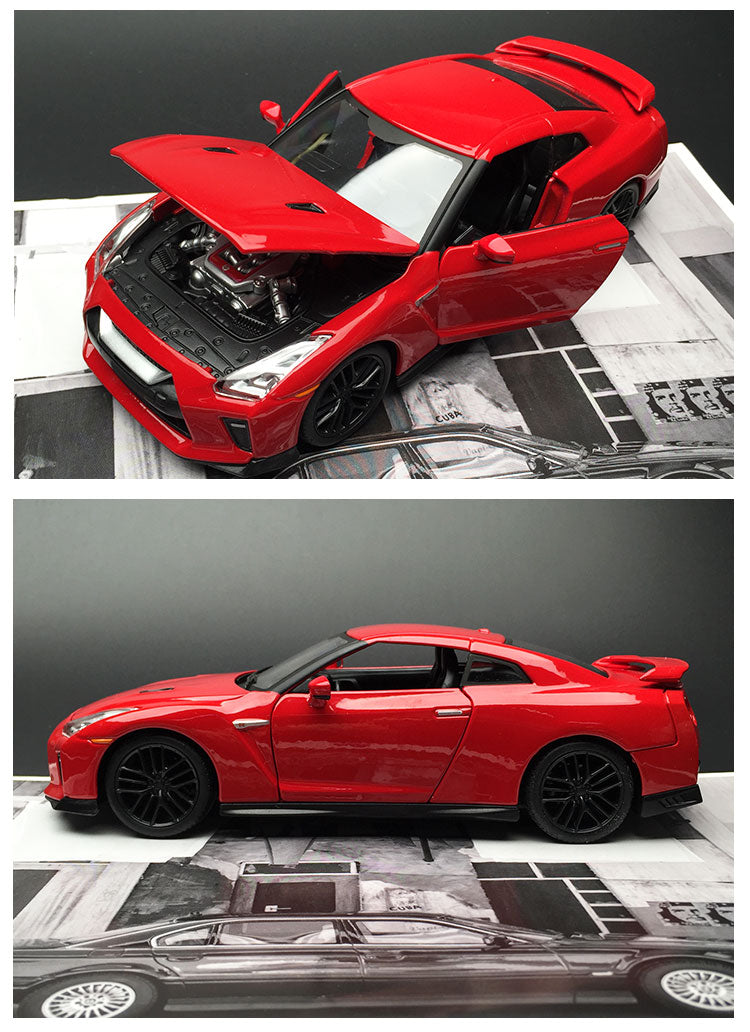 Nissan GTR Alloy Car Model, Nissan GTR Alloy Car Model, Falattar Store