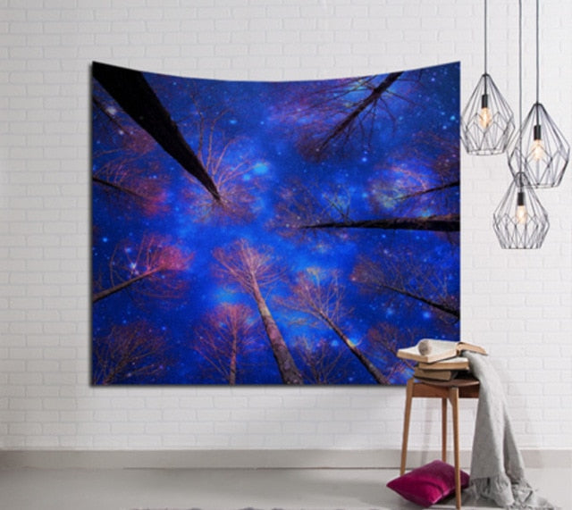 Galaxy Hanging Wall Tapestry, Galaxy Hanging Wall Tapestry, Falattar Store