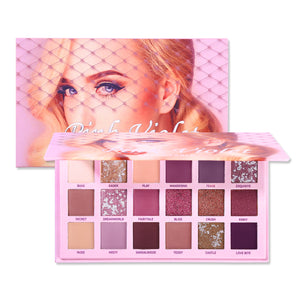 Changeable Pink Violet Nude Eye Shadow Palette, Changeable Pink Violet Nude Eye Shadow Palette, Falattar Store