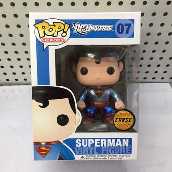 Exclusive FUNKO POP Superman Chase Action Figure - Falattar Store