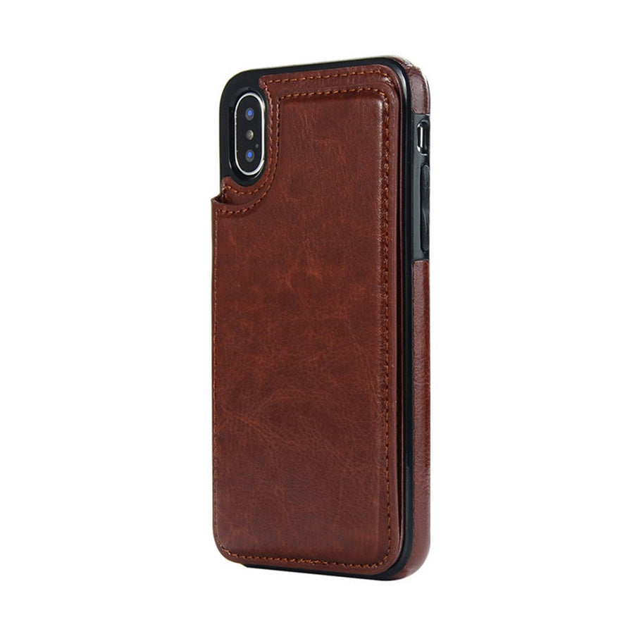 Luxury Slim Fit Premium Leather Cover For iPhone
