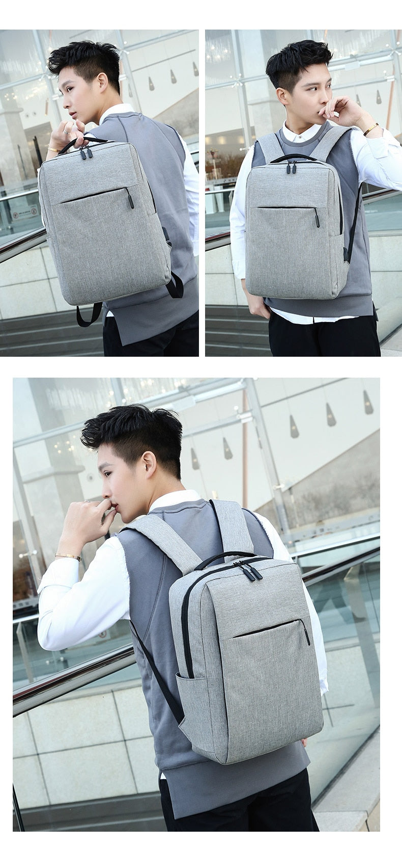 Anti Theft Laptop Usb Backpack