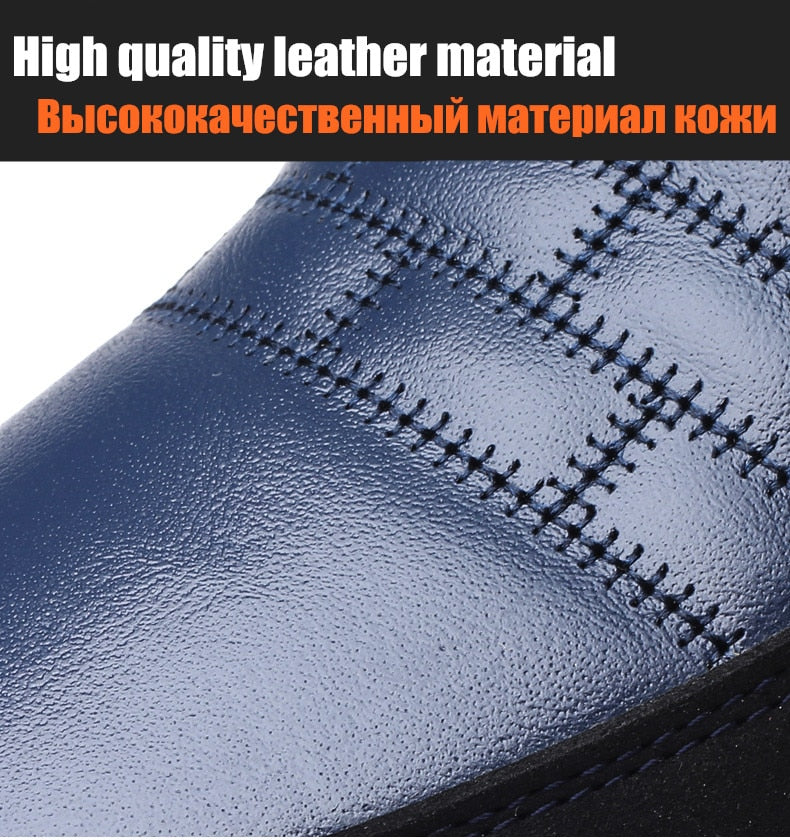 Breathable Genuine Leather Shoes