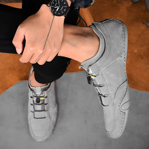 Fashion Cow Suede Shoes