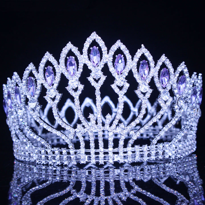 Crystal Queen Wedding Tiara Crown