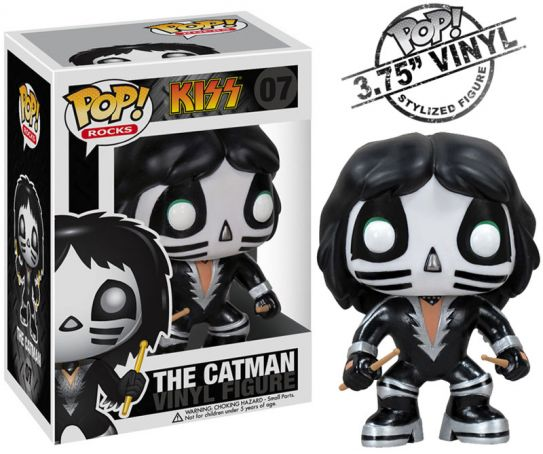 Exclusive Funko Pop Official Kiss Band - The Catman Model, Exclusive Funko Pop Official Kiss Band - The Catman Model, Falattar Store