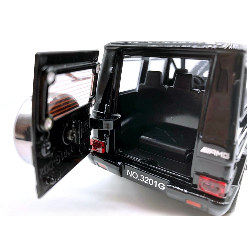 Diecast Car Benz G-Class SUV AMG Model, Diecast Car Benz G-Class SUV AMG Model, Falattar Store