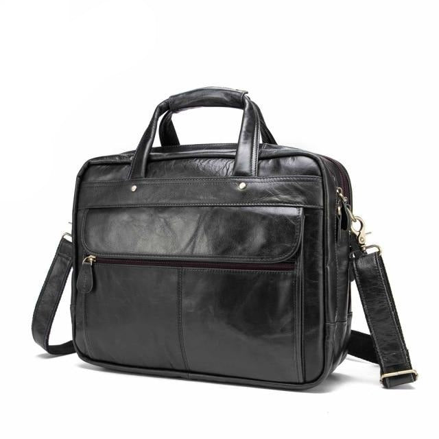 Top Quality Real Leather Antique Style Briefcase, Top Quality Men Real Leather Antique Style Briefcase, Falattar Store