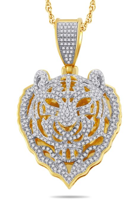 Diamond Panther Pendant
