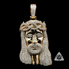 Load image into Gallery viewer, 10kt Jumbo Jesus Diamond  Piece