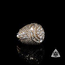 Load image into Gallery viewer, 10kt Yellow Gold Men's Cabochon Diamond Ring