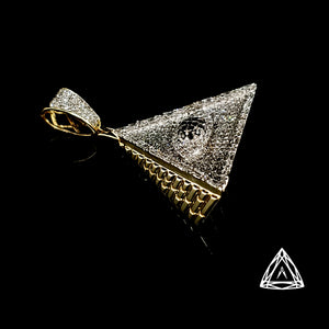 10kt Yellow Gold Illuminate Diamond pendant