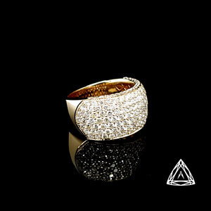 10kt Cabochon Yellow Gold Ring 4.00ct