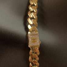 Load image into Gallery viewer, 10kt Yellow Gold Monaco Miami Cuban Link Chain 13mm 24 Inches