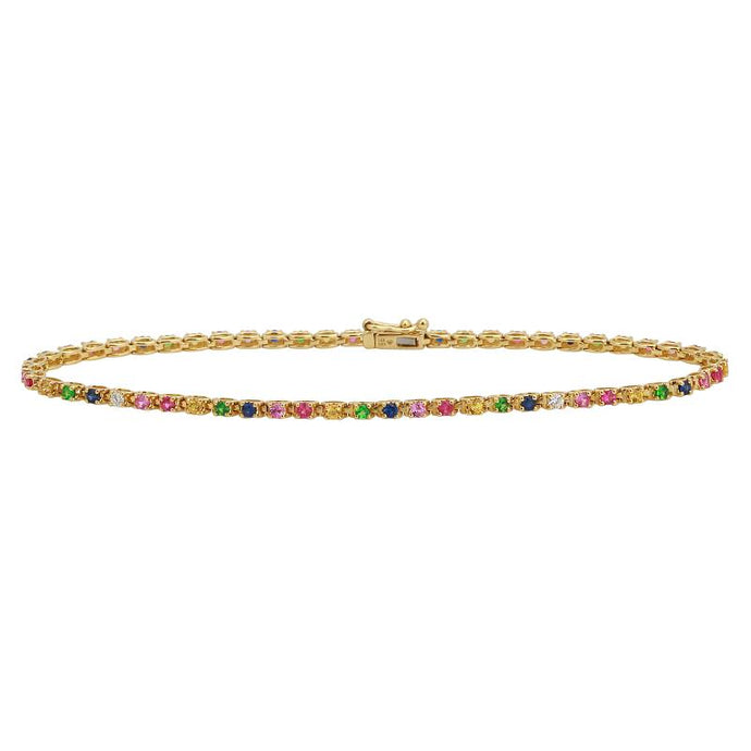 Diamond Rainbow Bracelet