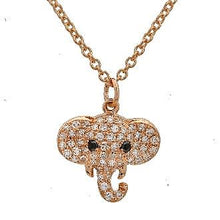 Load image into Gallery viewer, Diamond Elephant Necklace