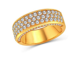 Diamond Semi 3 Lines & Side Band