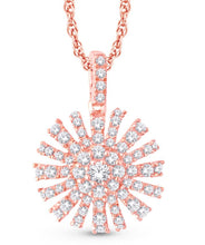 Load image into Gallery viewer, Diamond &/or Ruby Shining Star Pendant