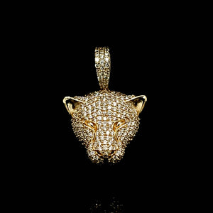 10kt Diamond Yellow Gold Panther 1.60ct
