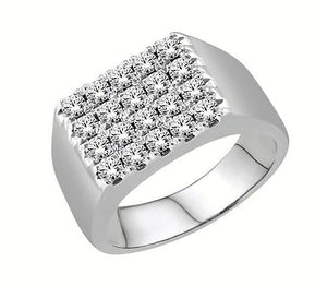 Diamond Classic 4x5 Ring