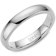 Load image into Gallery viewer, 4mm Traditional Half Rounded Comfort Fit Wedding Band in 14 Karat