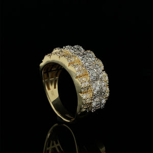 10kt Yellow Gold Diamond Band 2.40ct