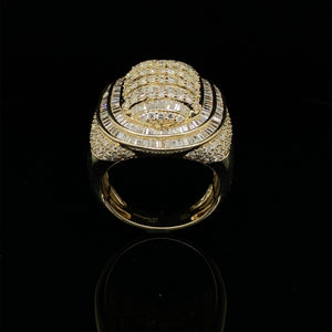 10kt Yellow Gold Diamond Ring 3.75ct