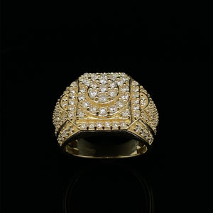 10kt Yellow Gold Diamond Ring 2.25ct