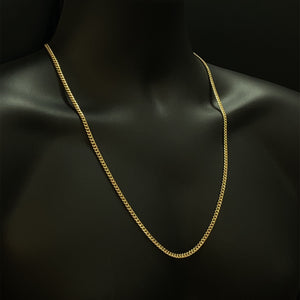 10kt Yellow Gold Miami Cuban Link 4 mm 26 inches