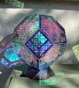 Flower of Life Truncated Octahedron || BulbGeoXL