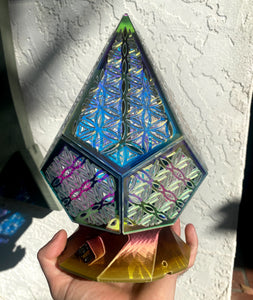 Prismatic Flower of Life || BulbGeoXL