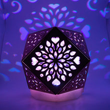 Load image into Gallery viewer, Cubo Love || LampGeo || Rechargeable LED Shadow Lamp