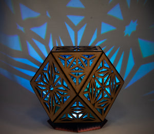 Sacred Cube || LampGeo || Rechargeable Portable Shadow Lamp