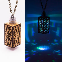 Load image into Gallery viewer, The Maze || LED Pendant || Cherry Wood
