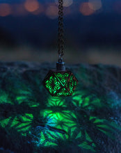 Load image into Gallery viewer, The Sacred Cube || LED Pendant