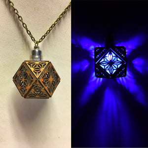 The Sacred Cube || LED Pendant