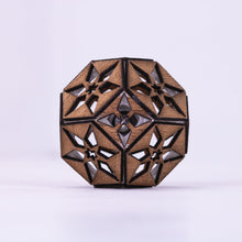 Load image into Gallery viewer, Starry Night Truncated Octahedron || LED Pendant