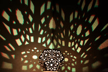 Load image into Gallery viewer, Lotus Dodecahedron || LampGeo || LED Rechargeable Shadow Lamp