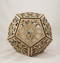 Load image into Gallery viewer, Star Rosette Dodecahedron || BulbGeoXL
