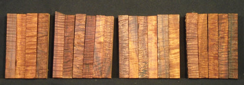 Exhibition Grade Curly Koa Hawaiian Pen Blanks