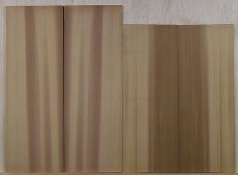 Two Tone Western Red Cedar Uke top sets