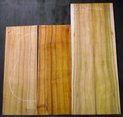 A Grade Curly Koa Jumbo Guitar set #672