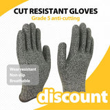 Cut Resistant Gloves (2 pairs)
